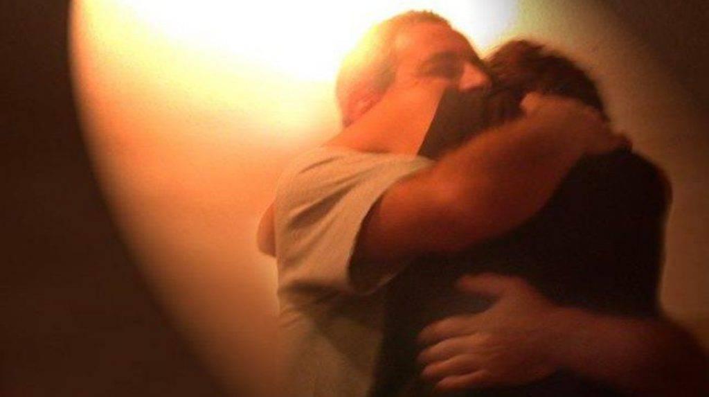 Abbraccio padre