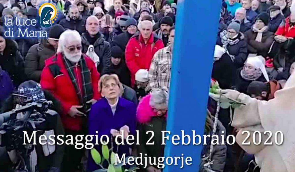 Medjugorje Messaggio 2 Febbraio 2020