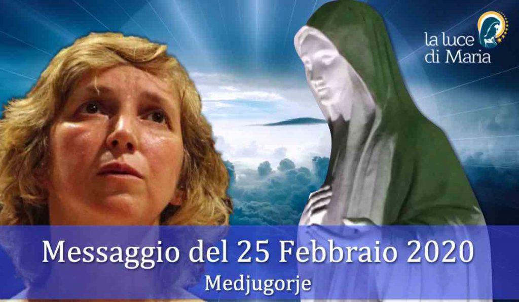 Medjugorje messaggio 25 Febbraio