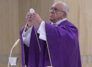 Papa Francesco celebrazione