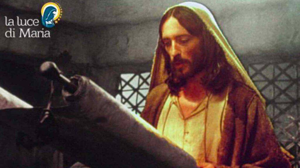 Vangelo - Gesù legge Isaia