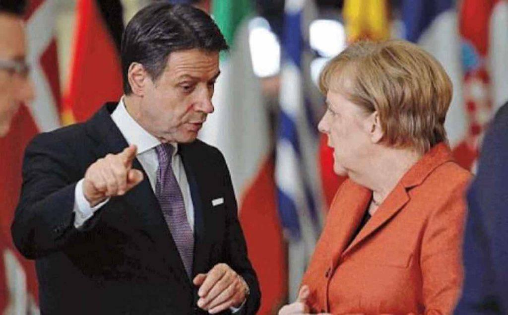 Conte Merkel Coronavirus ricciardi