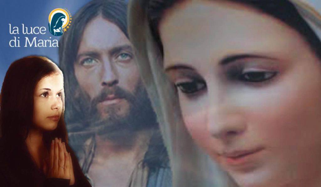 Medjugorje Maria e Gesù