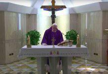 Papa Francesco Messa Santa Marta 30 Marzo 2020