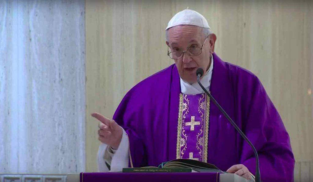 Papa Francesco Santa Marta 28 Marzo 2020