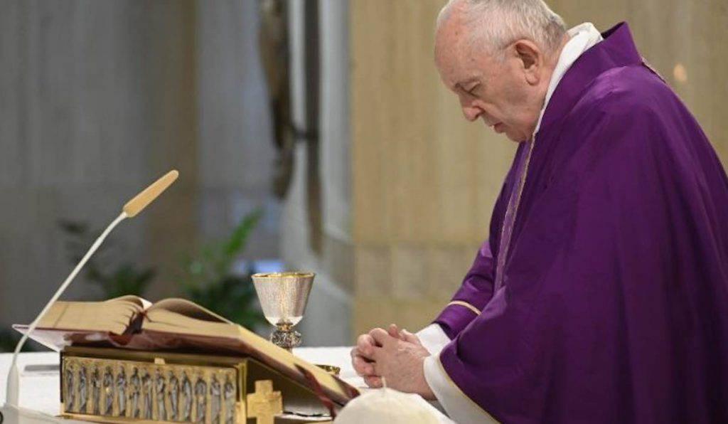Papa Francesco Santa Marta 29 Marzo 2020