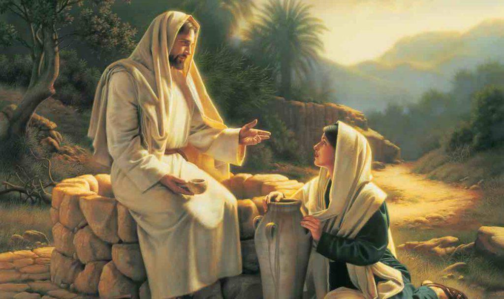 Vangelo Gesu e la Samaritana