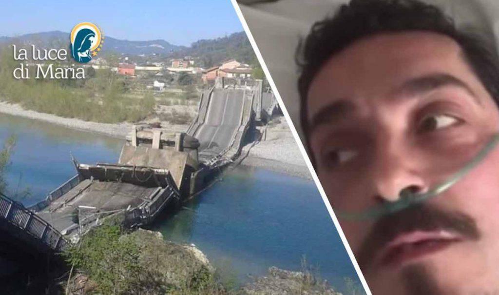 Autista crollo ponte