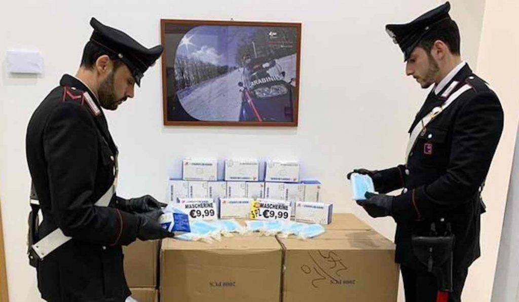 Coronavirus Truffe Carabinieri sequestro Roma