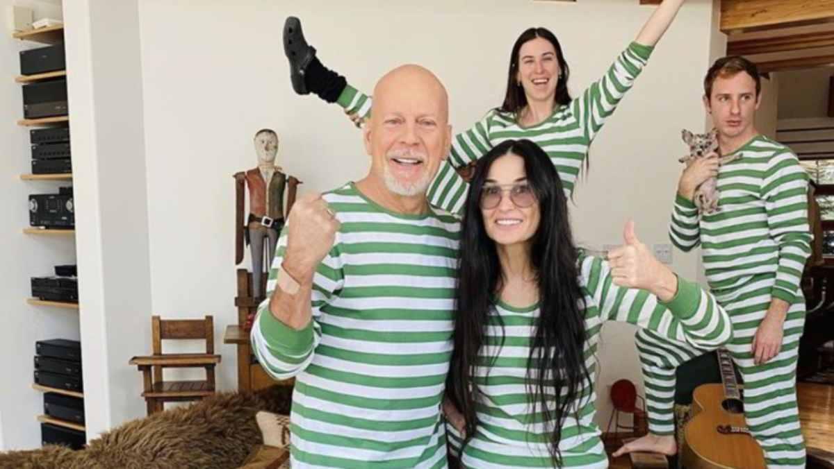 Bruce Willis in quarantena con Demi Moore dopo 20 anni di divorzio
