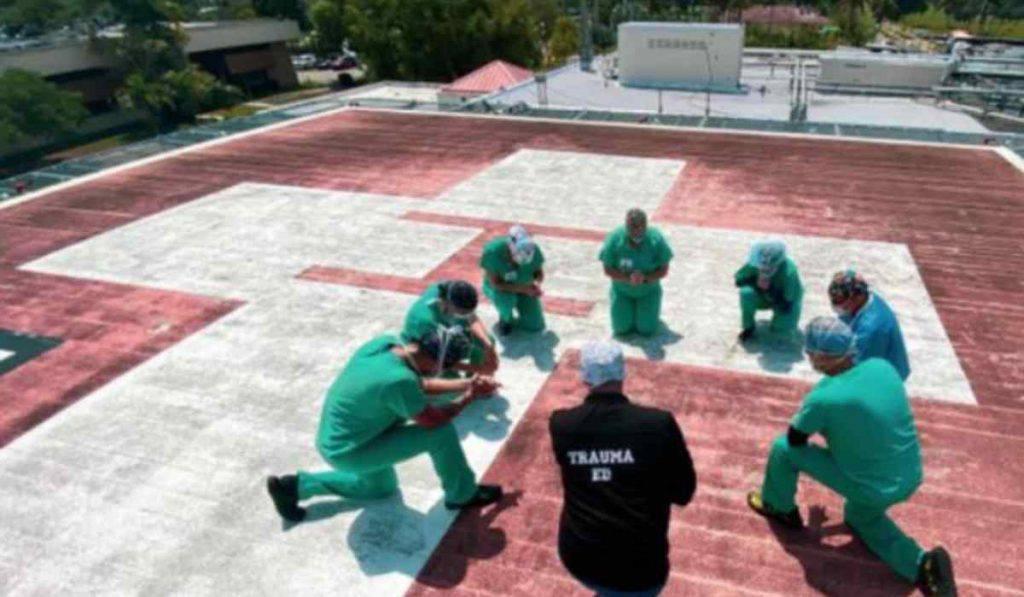 coronavirus infermieri tetto