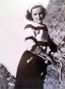 Santa Gianna Beretta Molla in montagna che amava tanto