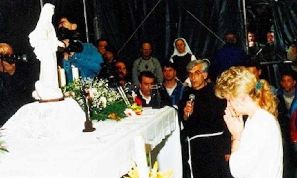 Medjugorje - Mirjana con Padre Slavko