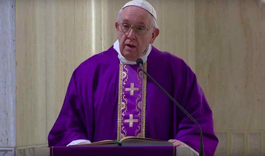 Papa Francesco Messa Santa Marta 2 Aprile 2020