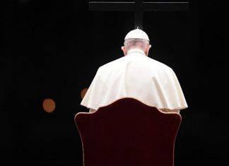 Papa Francesco oggi c'è un gran silenzio Sabato Santo
