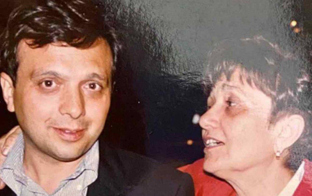 Piero Chiambretti e mamma Felicita