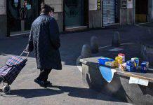 Roma, cibo per i senzatetto
