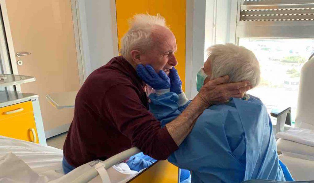 Giorgio e Rosa sposati da 52 anni ma separati dal Coronavirus