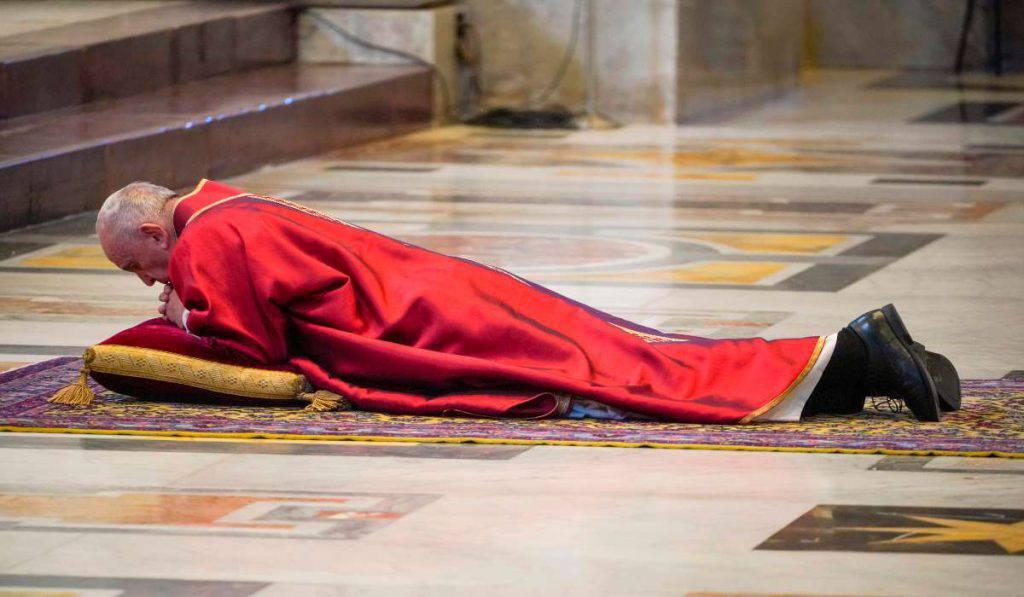 papa francesco venerdi santo