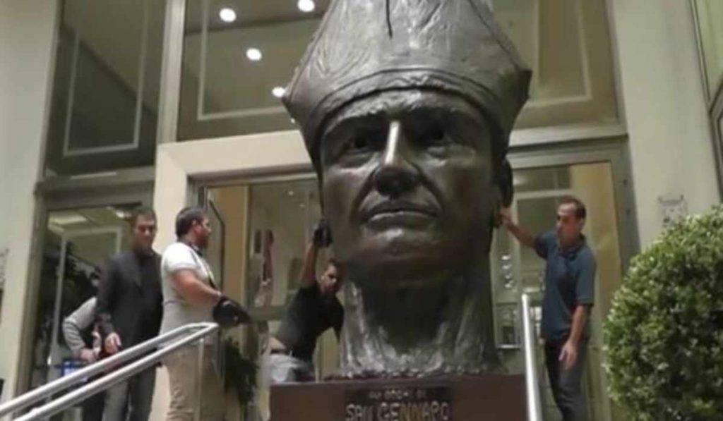 san gennaro statua ospedale