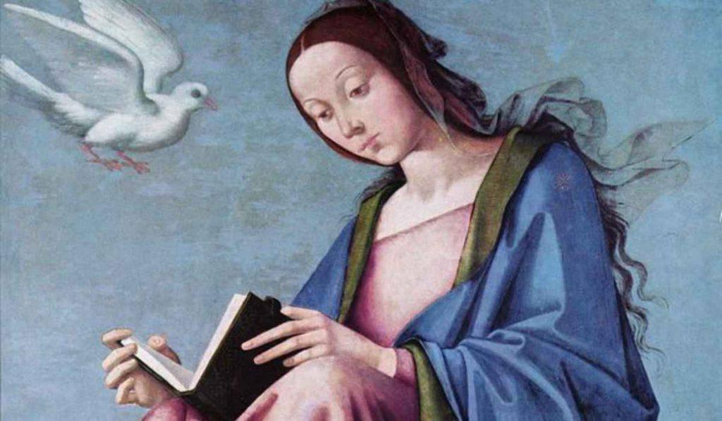Maria che legge