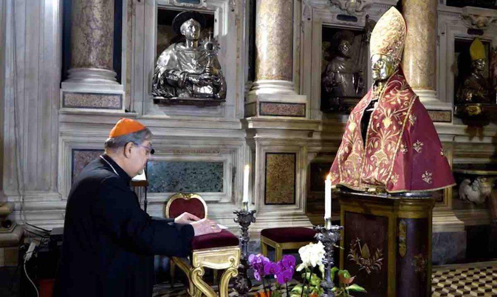 Cardinale Sepe San Gennaro
