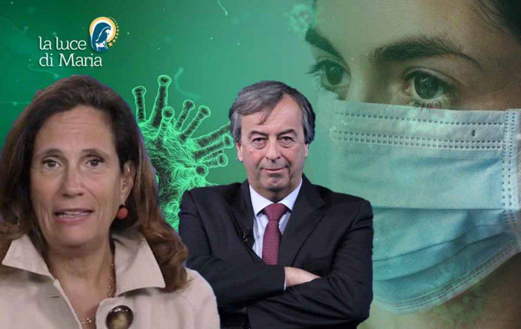 Coronavirus cachet virologi in Tv