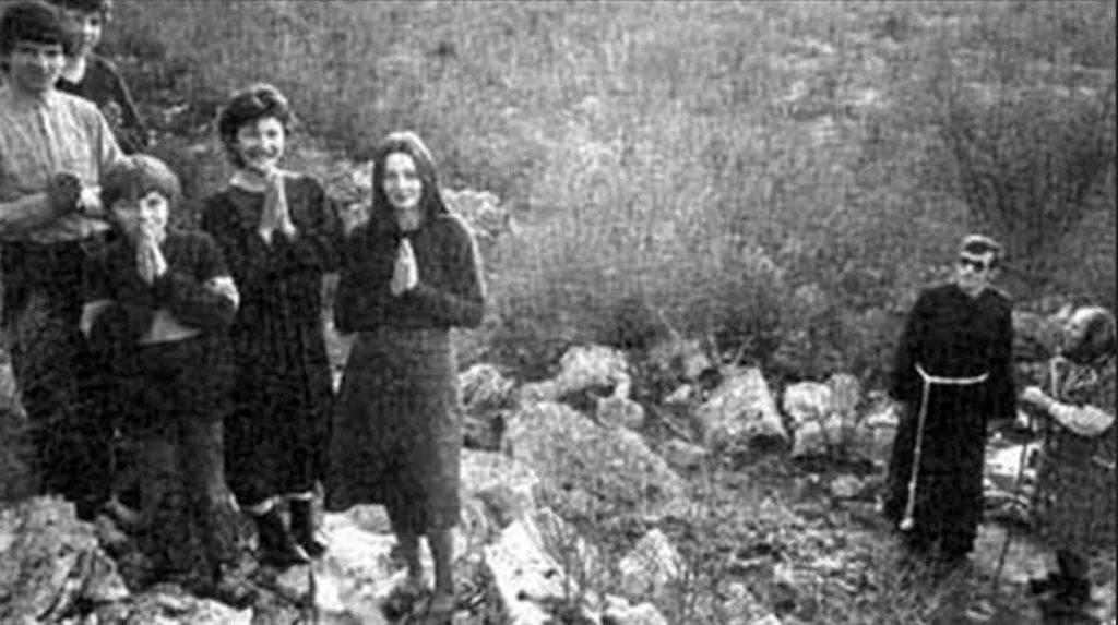 I veggenti di Medjugorje, primi anni di apparizione della Madonna