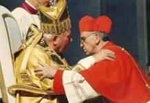 Giovanni Paolo II e card. Bergoglio