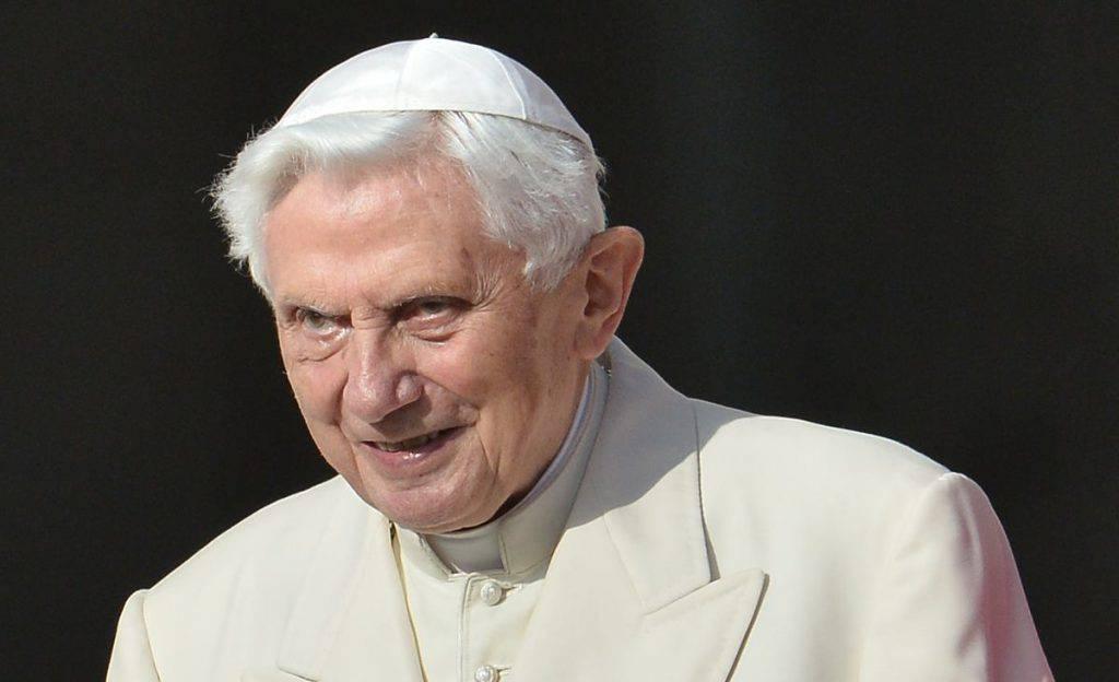 Il Pontefice emerito Benedetto XVI