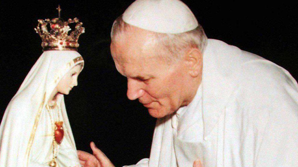 Giovanni Paolo II e il suo rapporto con la Madonna di Fatima