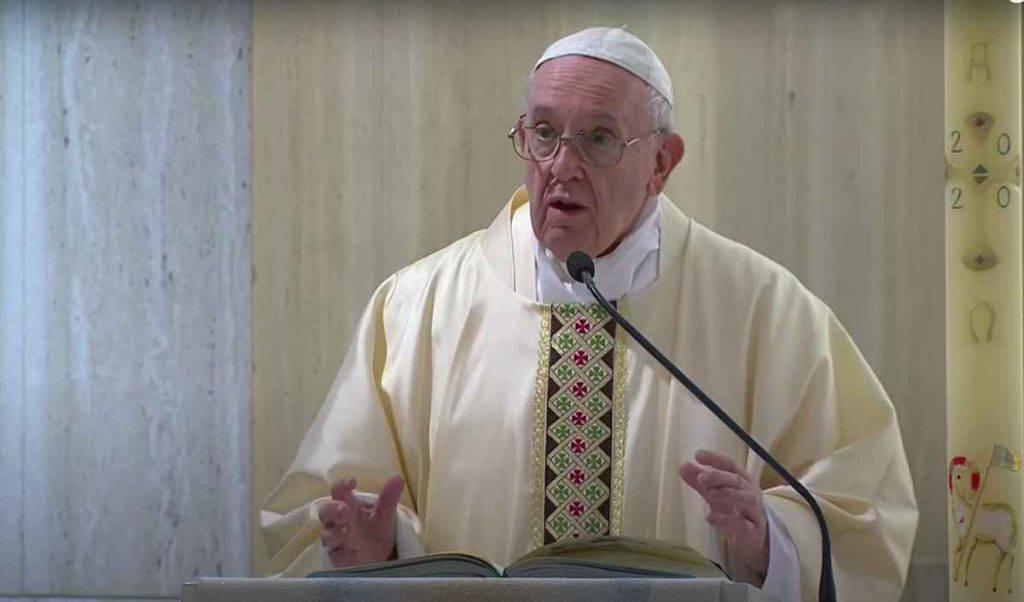 Papa Messa 3 Maggio 2020