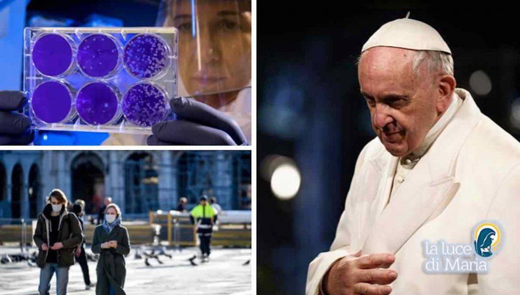 Papa Francesco lotta pandemia Coronavirus