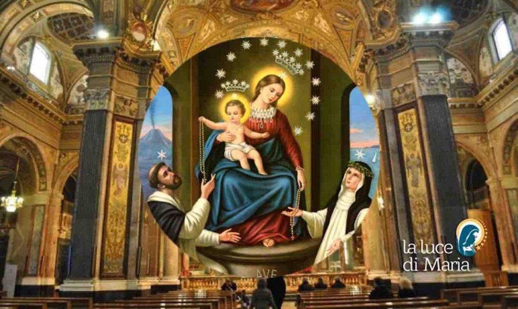 Pompei Santa Messa e Rosario
