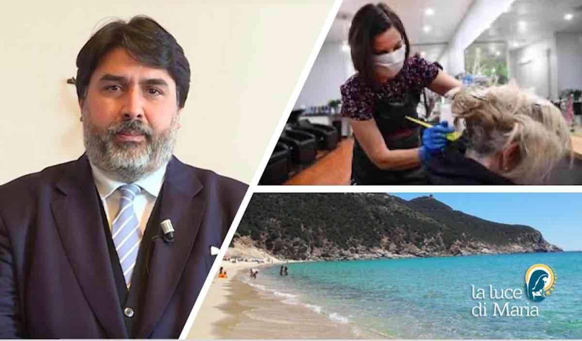 Solinas, spero in apertura vacanze in Sardegna dal 15 giugno