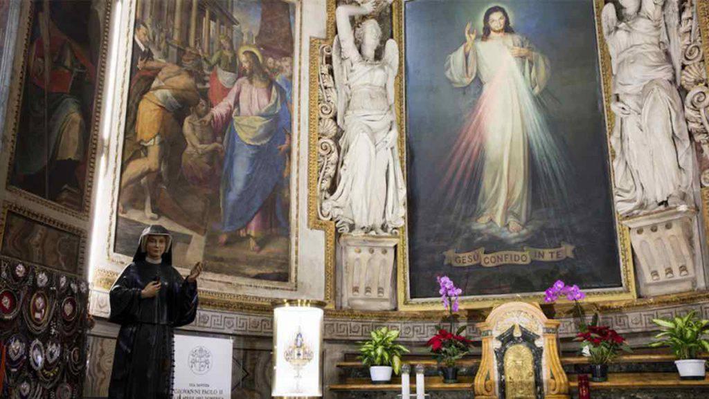 Il Santuario di Santo Spirito in Sassia a Roma dedicato al culto della Divina Misericordia