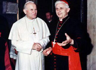 San Giovanni Paolo II e Benedetto XVI