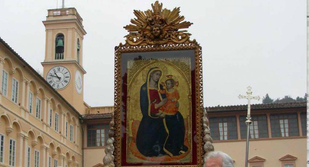 Il quadro della Madonna di Montenero
