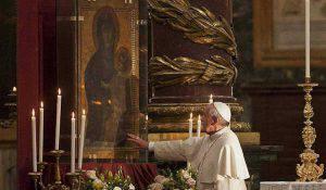 """Papa Francesco e Maria """"Salus Populi Romani"""""""