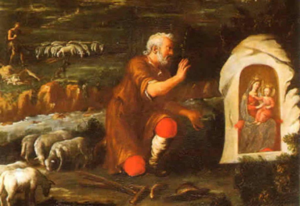 Il pastore che ritrovò l'immagine della Madonna di Montenero