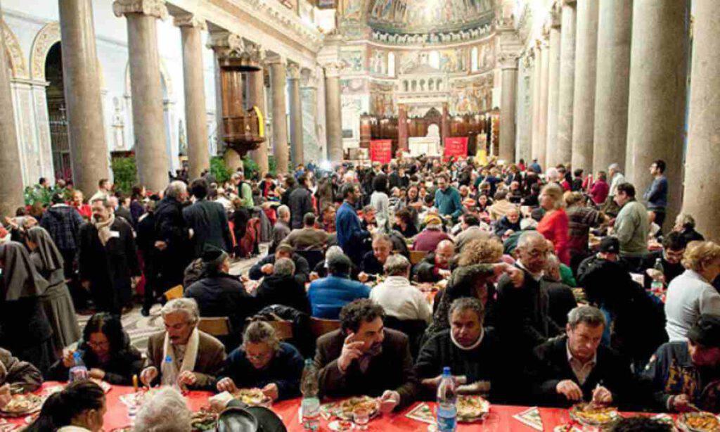 Banchetto in Chiesa