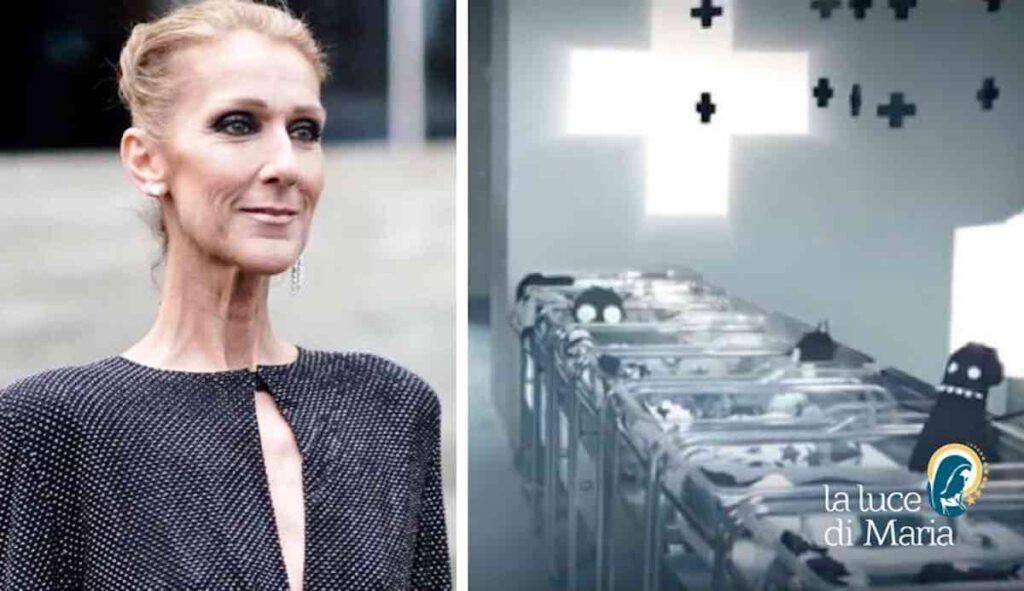 Celine Dion terrificante