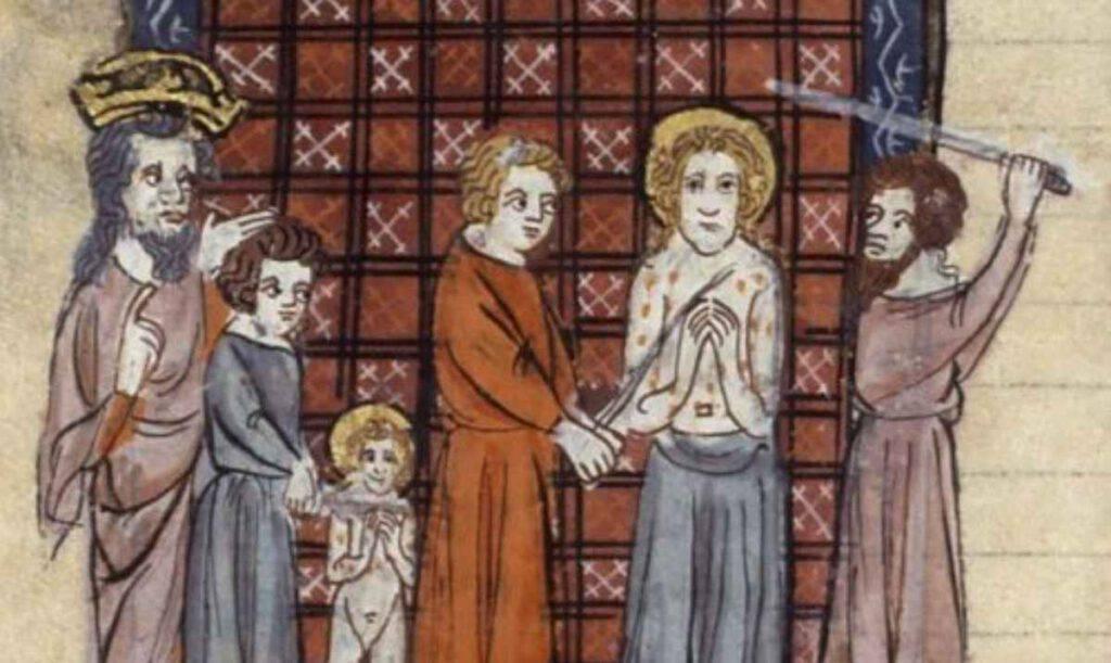 Il martirio di San Quirico e Santa Giulitta