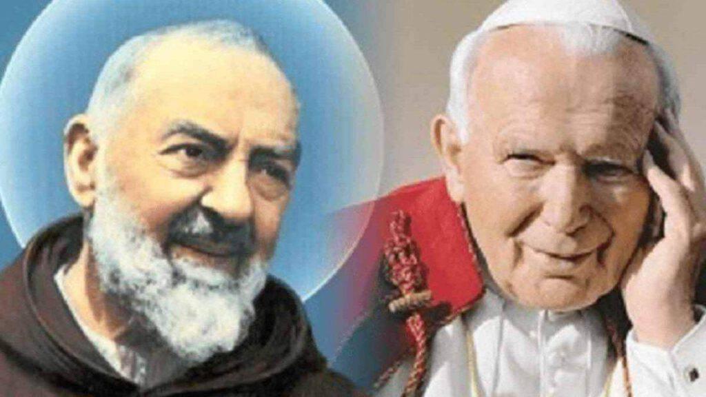 Padre Pio Giovanni Paolo II