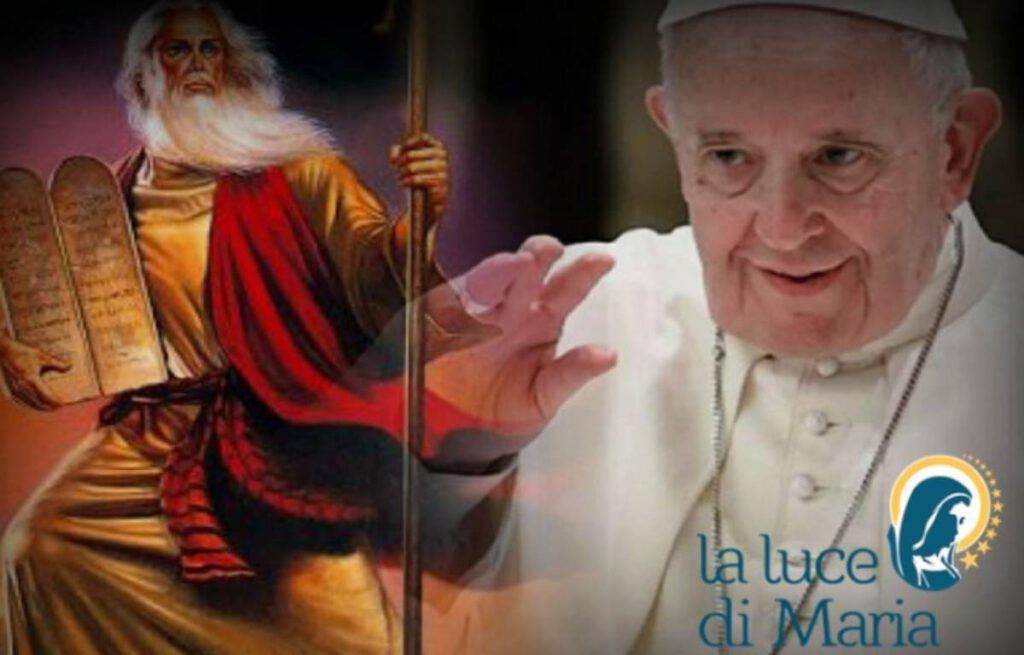 Papa Francesco Mosè