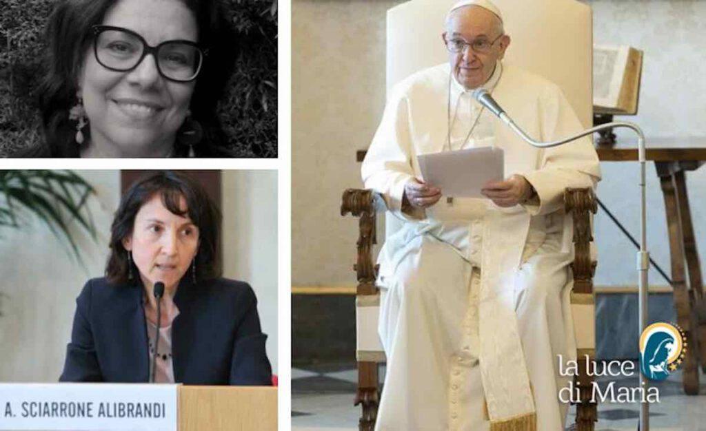 Papa Francesco nomina due donne a vertice vaticano