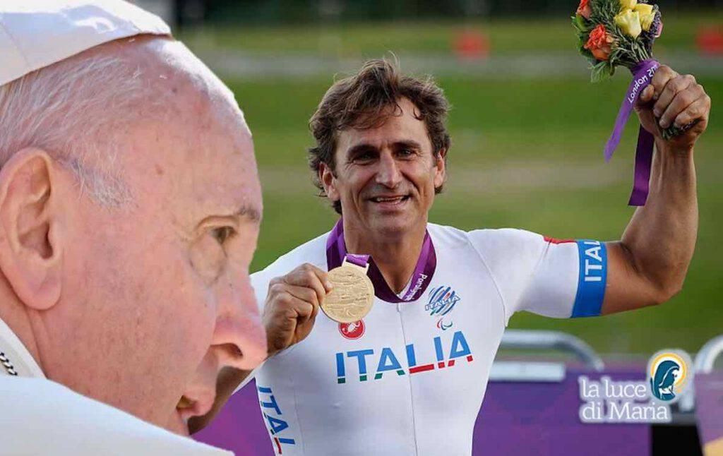 Papa Francesco scrive ad Alex Zanardi