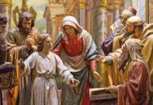 Vangelo Gesù ritrovato tempio