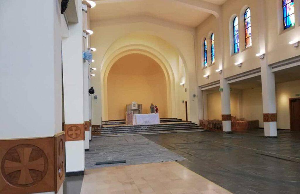 Chiesa di San Giacomo come mai prima
