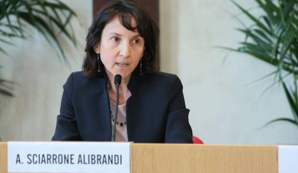 papa nomina Antonella Sciarrone Alibrandi